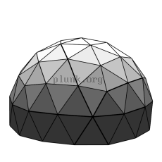 massive geodesic dome
